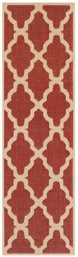 Moda Trellis Red Runner