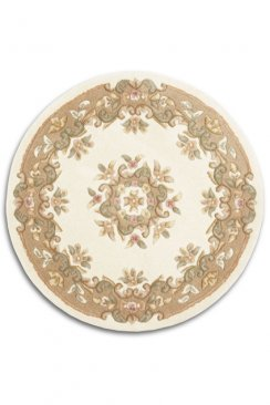 Jewel Circle Beige JWL03
