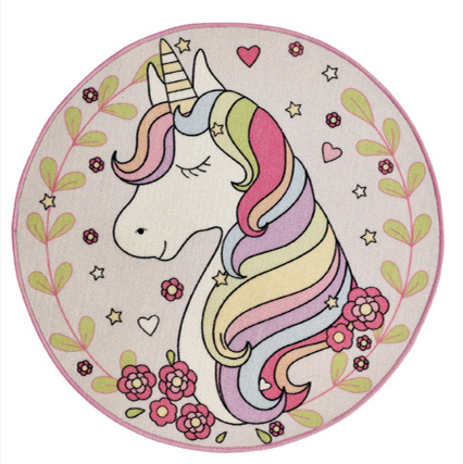 Kids Playtime Magic Unicorn Rug