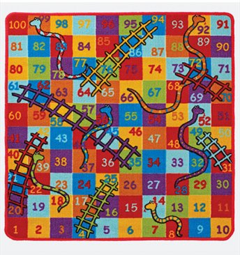 Kids Playtime Snakes And Ladders