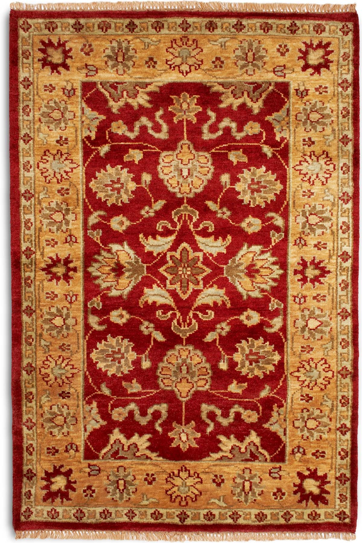 Plantation Taj Agra Dark Red Rug