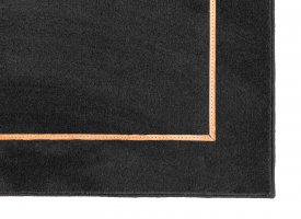 Wool President Leather Rug