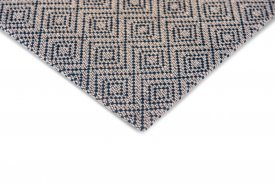 Wool Jackies Diamond Rug