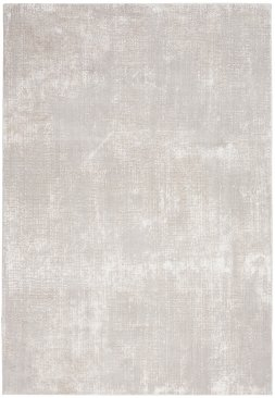 Nourison Silky Textures SLY01 Ivory Grey