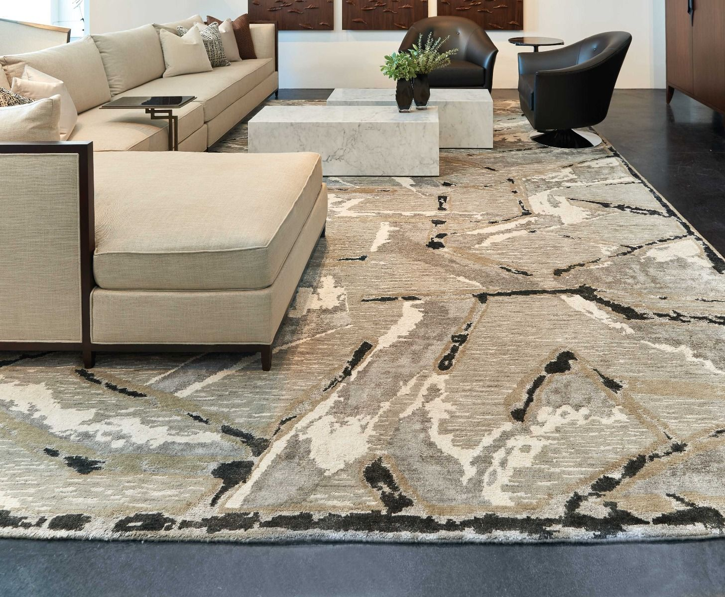 Christopher Guy Wool Collection CGW05 SILVER Rug