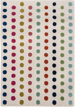 Wool Dotty Rug