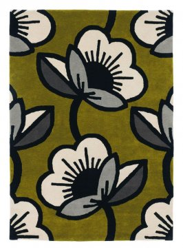 Wool Passion Flower Rug