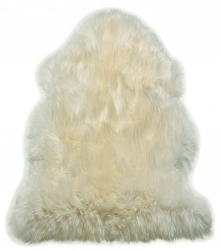 Asiatic Sheepskin White